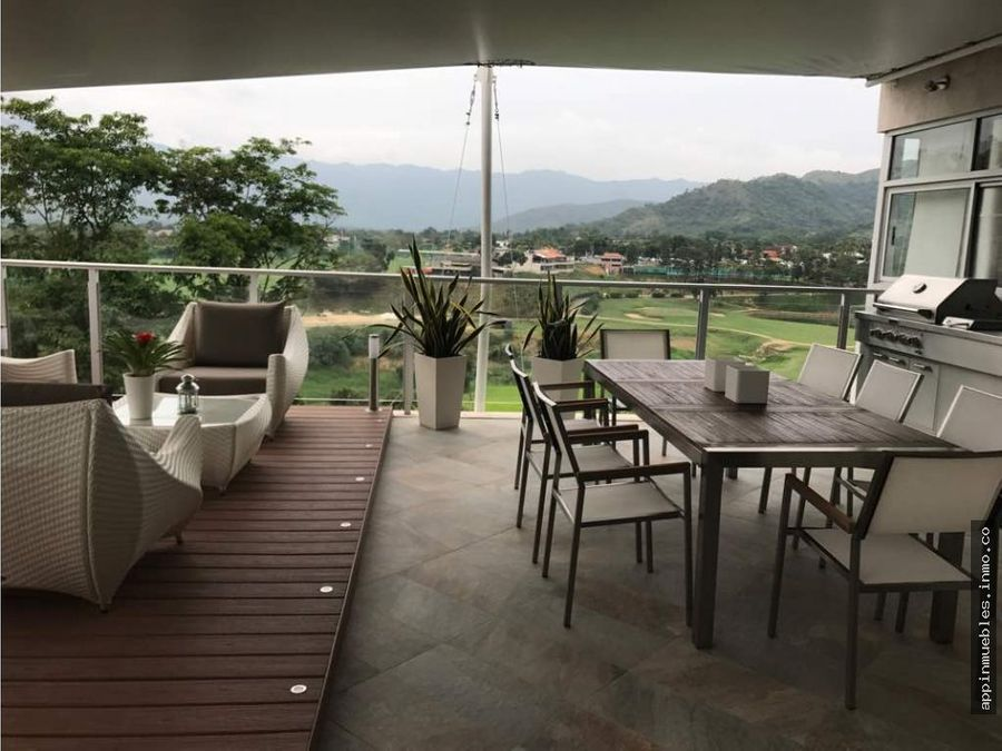 lujoso apartamento en terrazas del country