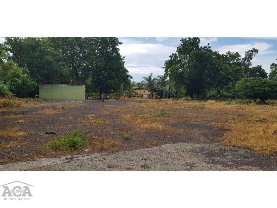 alquiler de terreno cruce de sabana grande
