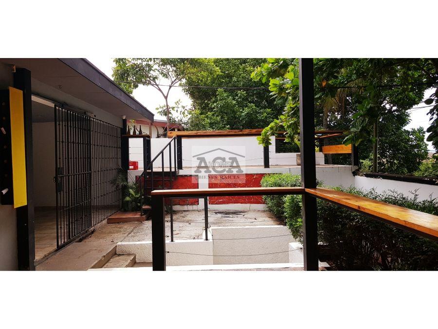 alquiler de casa para restaurante planes de altamira