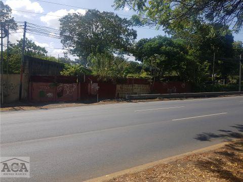 venta terreno km 125 sobre la carretera a masaya