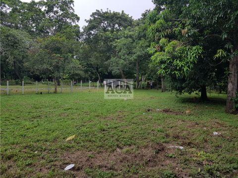venta terreno carretera a masaya km 125