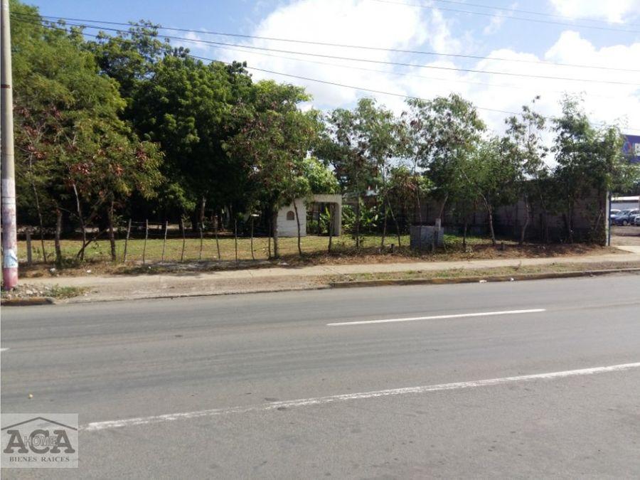 venta terreno avenida bolivar
