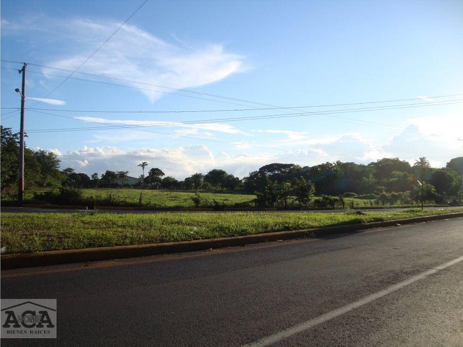 terreno en venta rotonda las flores masaya