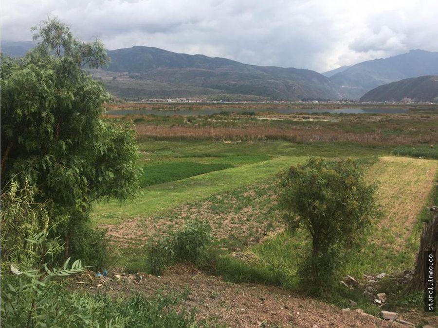 terreno agricola lucre cusco