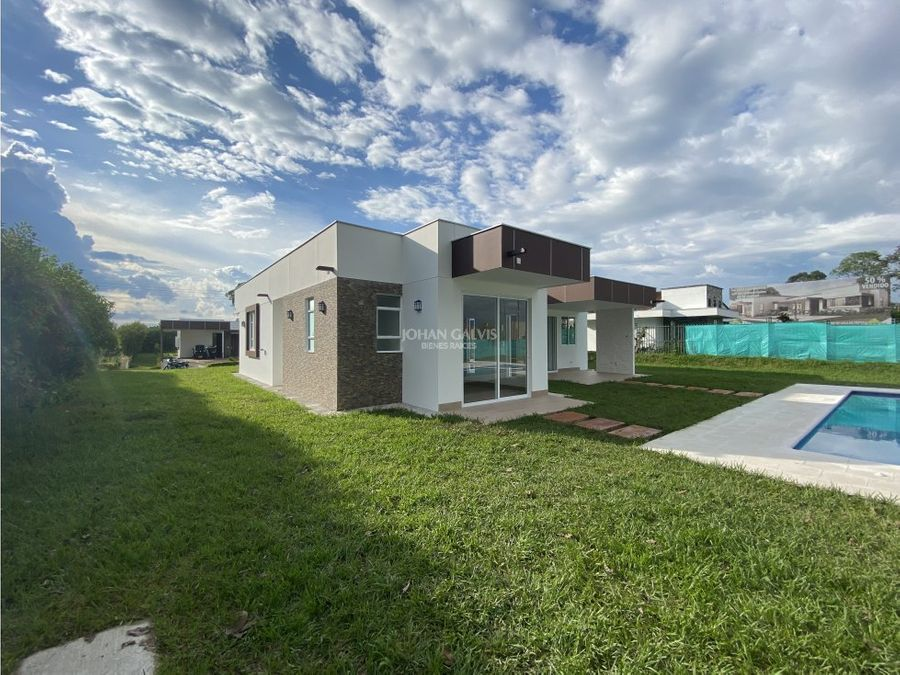 casas campestres para la venta montenegro