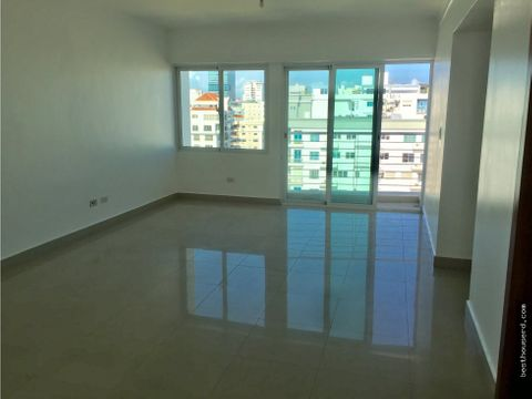 apartamento en alquiler sector evaristo morales