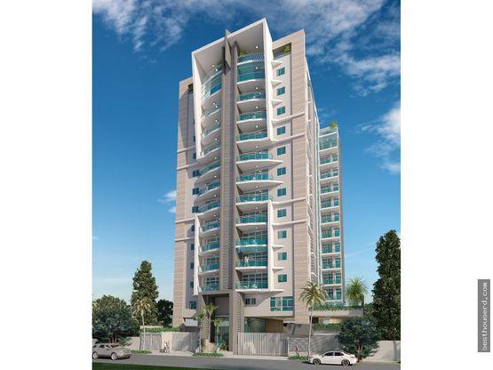 apartamentos en venta de 3 habitaciones naco