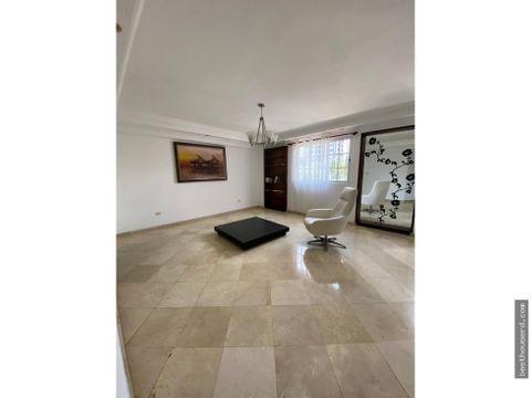 apartamento en venta de 3 habitaciones en el naco