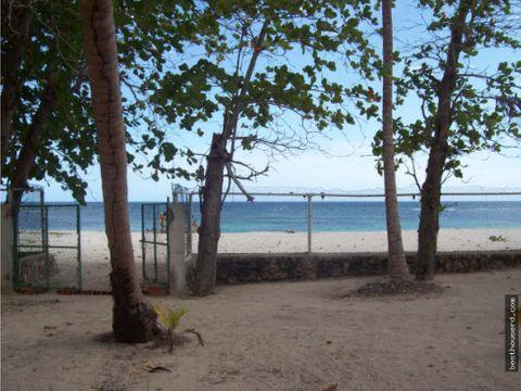 terreno en venta con playa en juan dolio