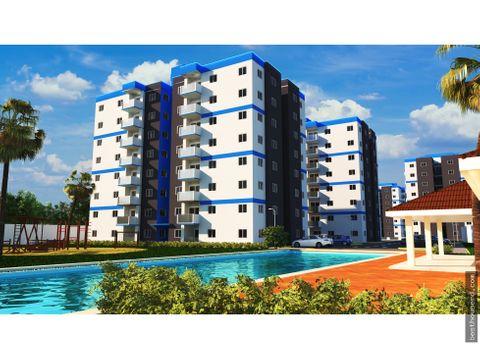 apartamentos en venta con el bono vivienda en santo domingo oeste