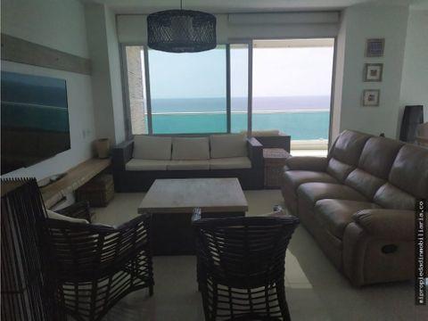 apartamento frente al mar de covenas venta