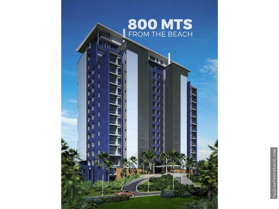 apartamentos frente a la playa en cap cana