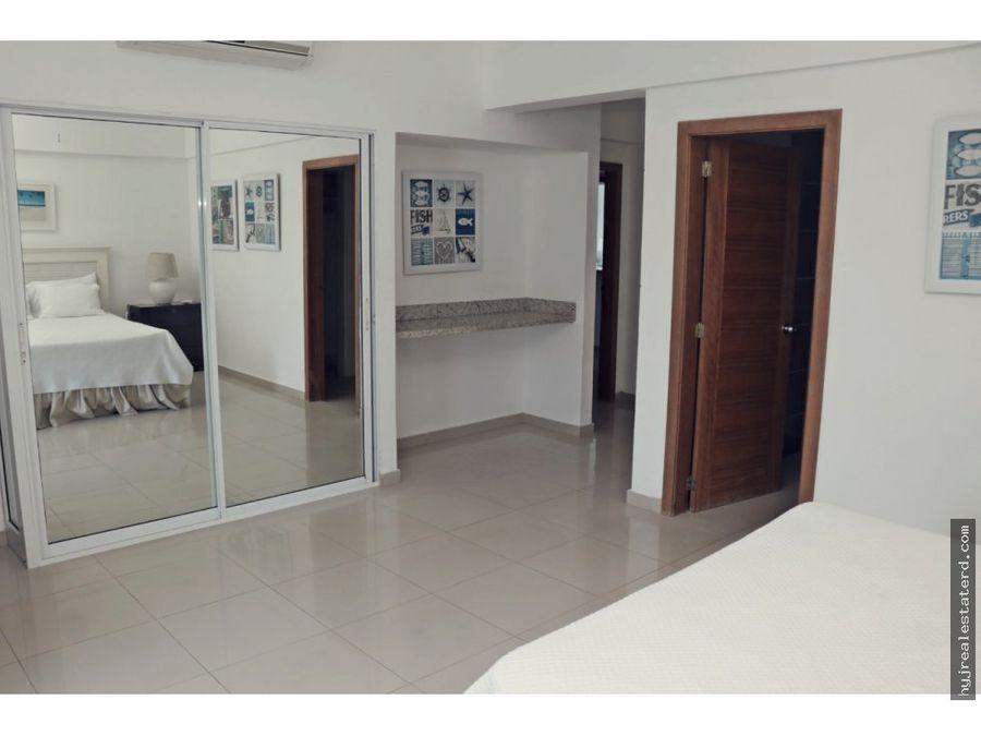 apartamento en juan dolio a 1 min de la playa
