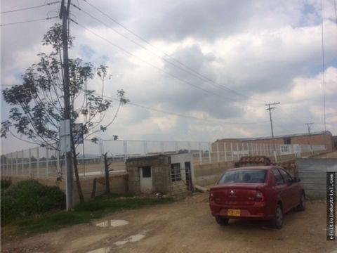 lote industrial mosquera