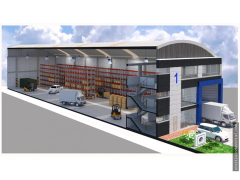 proyecto construccion bodegas parque industrial tocancipa