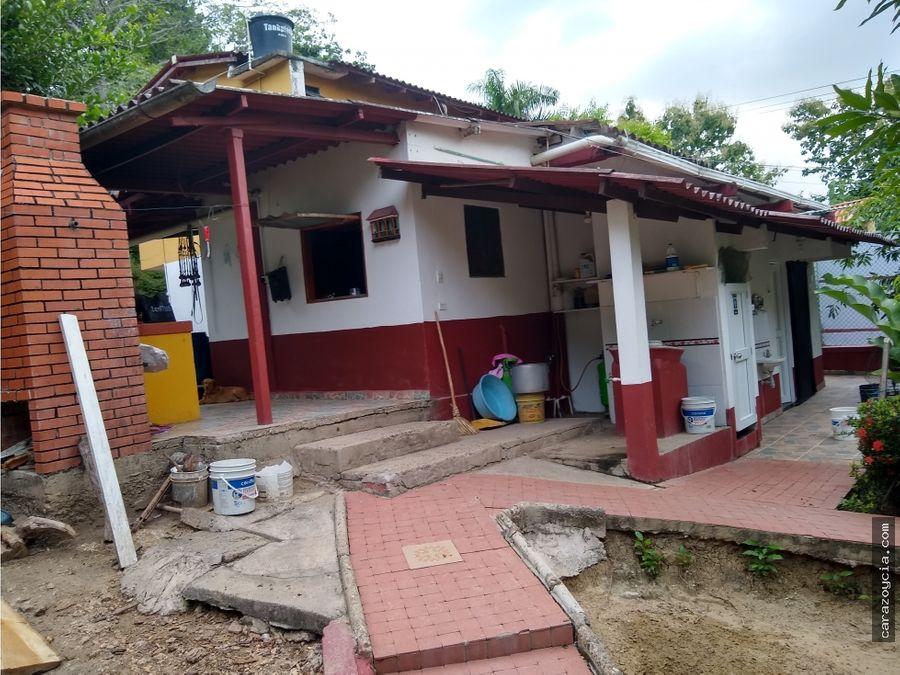 carazo vende casa finca turbaco sector montana