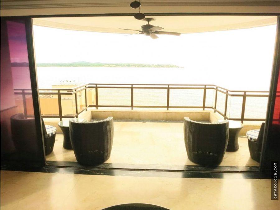 carazo vende apto en el laguito torre marina 1502