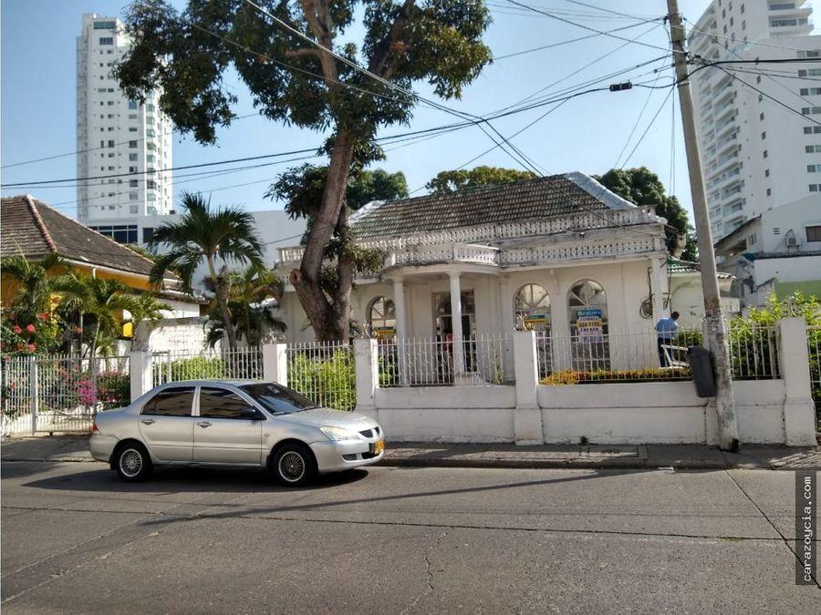 carazo vende y arrienda casa manga calle real