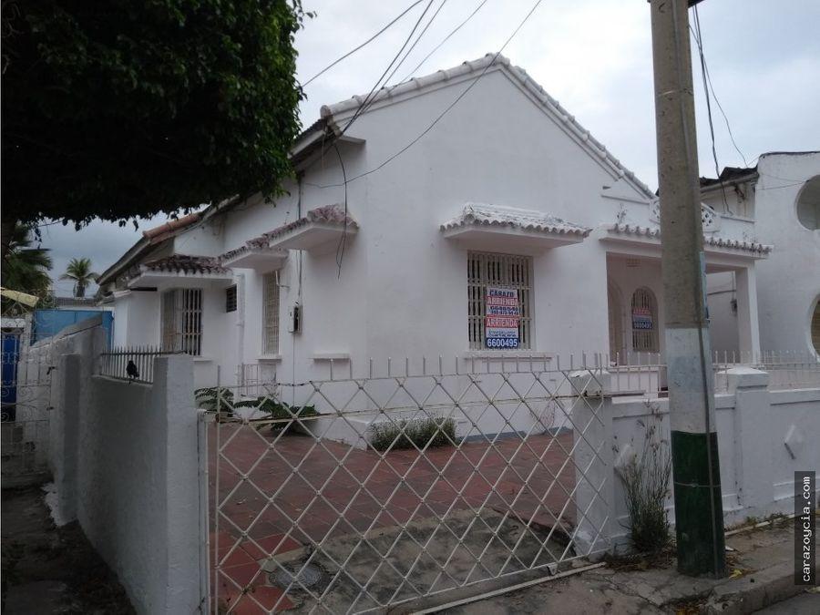 carazo arrienda casa en el pie de la popa