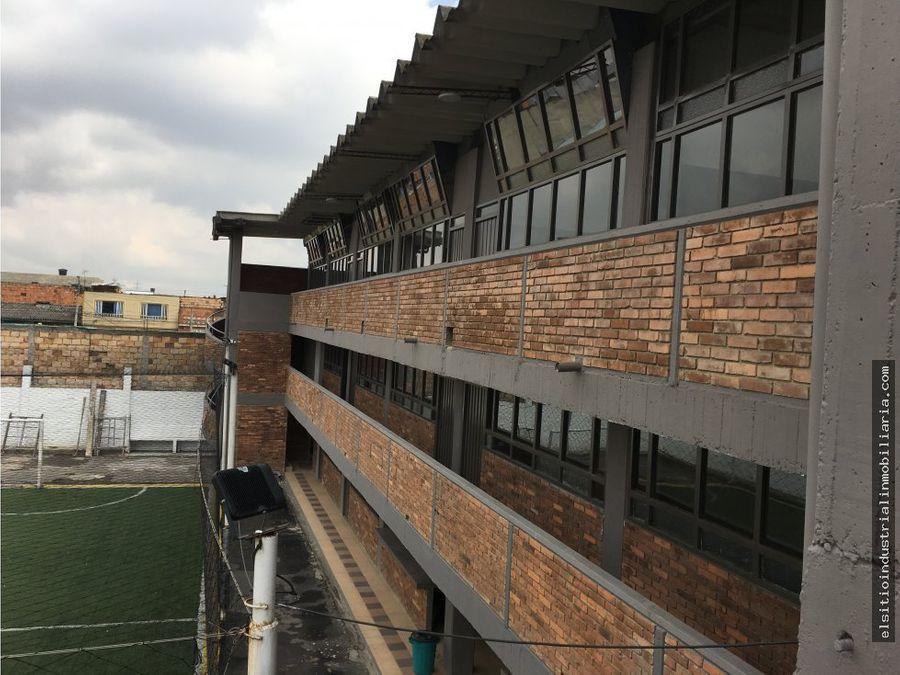 edificio educativo barrio san benito
