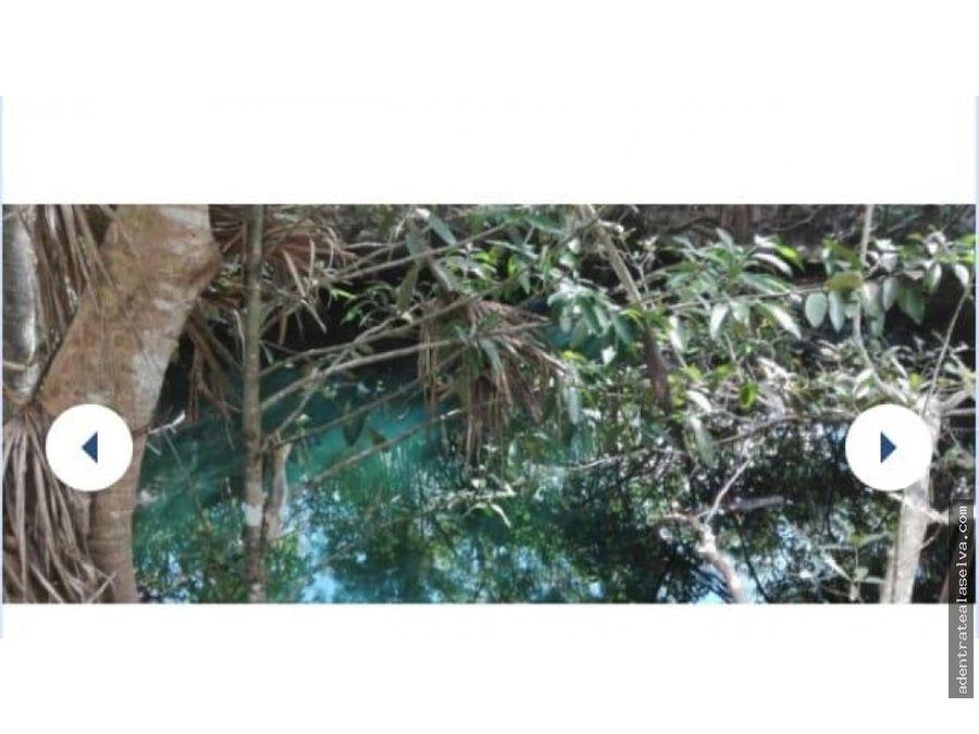 venta 195 h escrituradas en yalsihon 3 cenotes