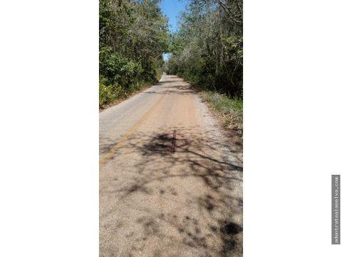 terreno 112 hectareas dzitas yucatan