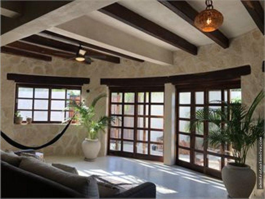 venta casa de lujo en tulum