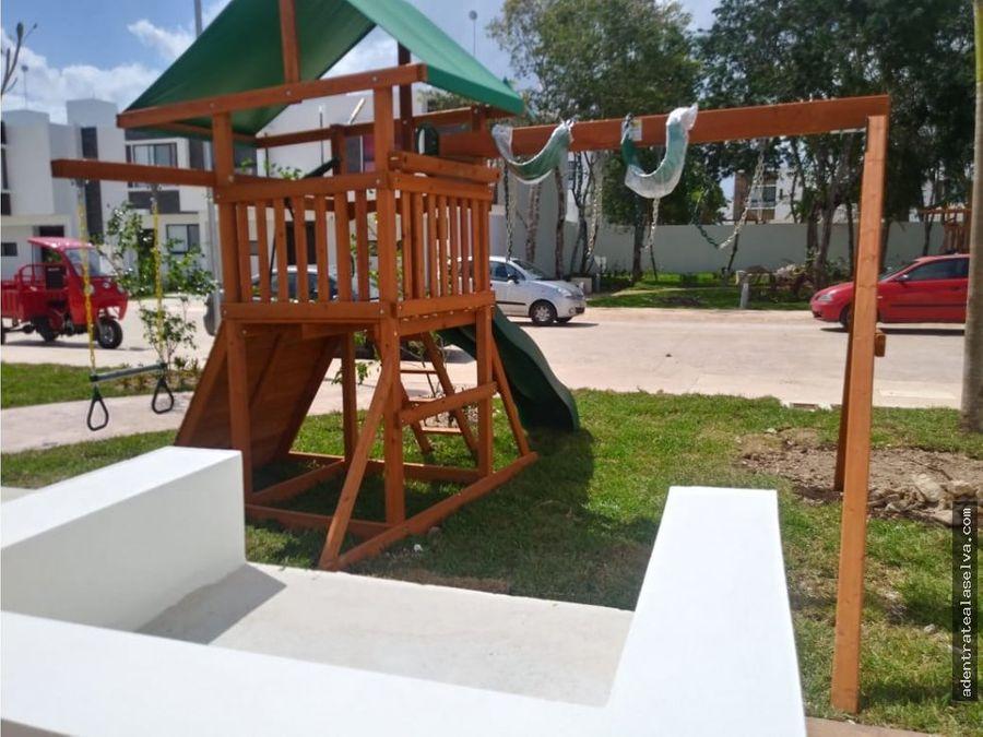 casa en playa del carmen en privada playa del sol