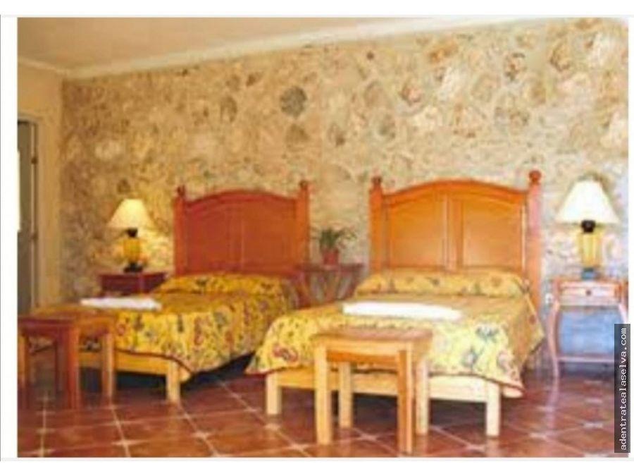 hotel ecoturistico cerca ek balam