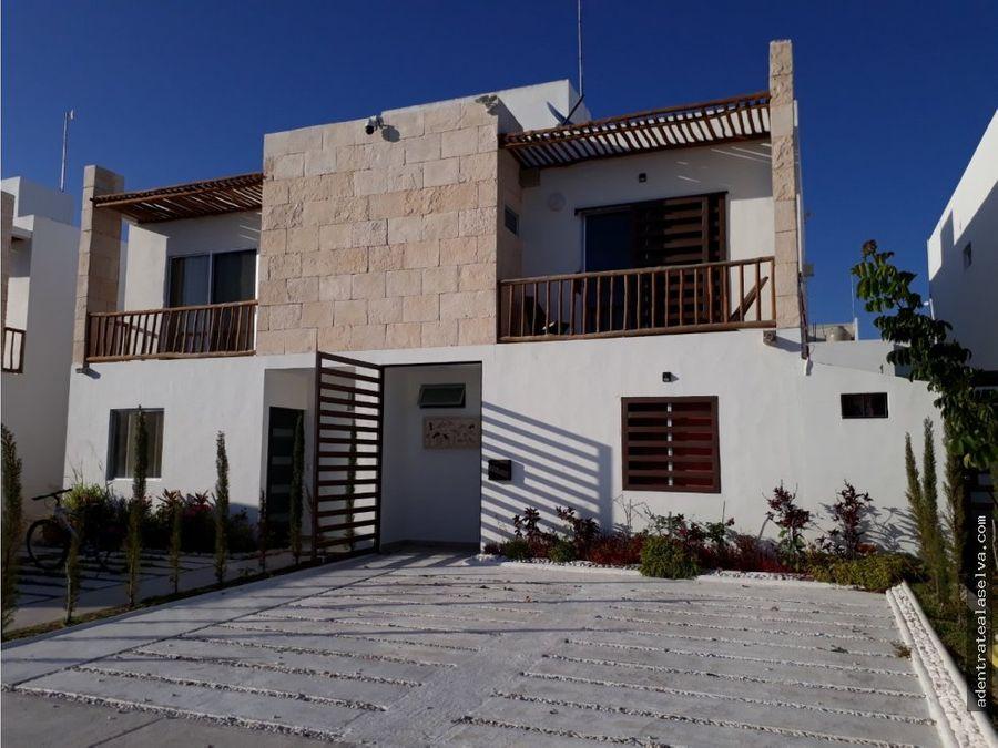 casa moderna 2 niveles en exclusiva privada