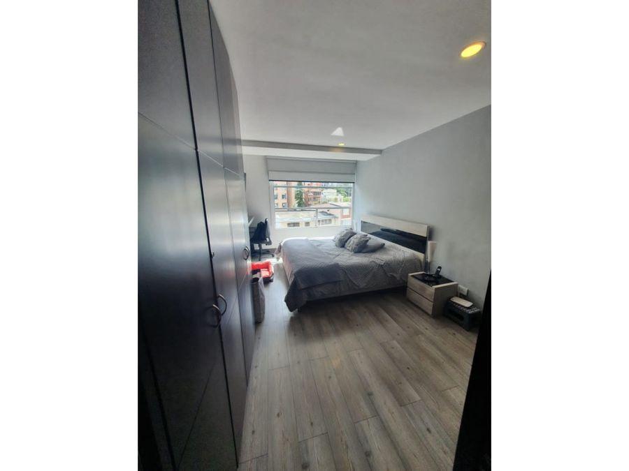 venta de apartamento en chapinero alto