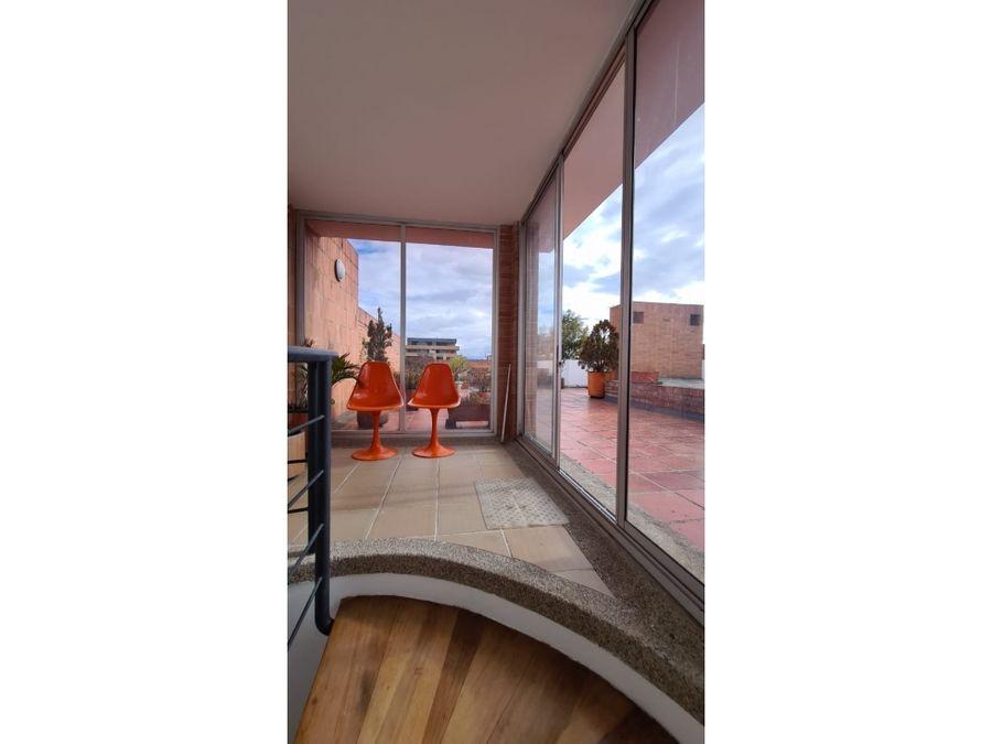 venta de penthouse con terraza en santa paula