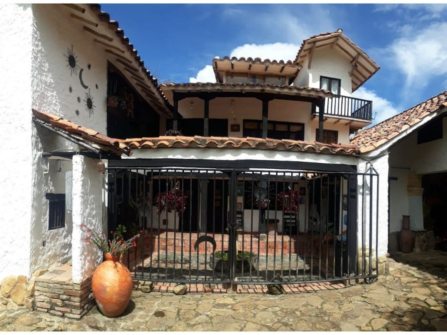 vendo casa en villa de leiva