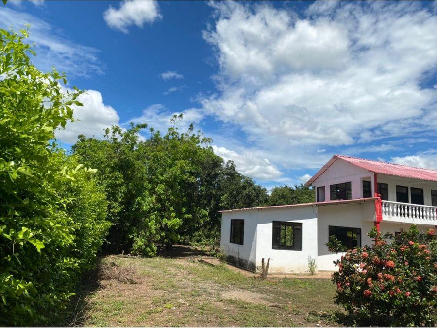 venta de terreno y casa en ricaurte cundinamarca