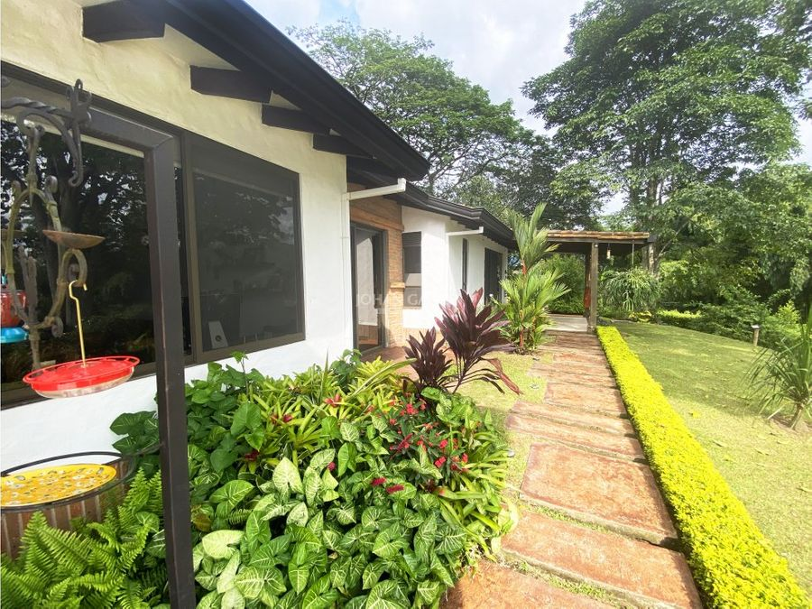 venta hermosa casa campestre