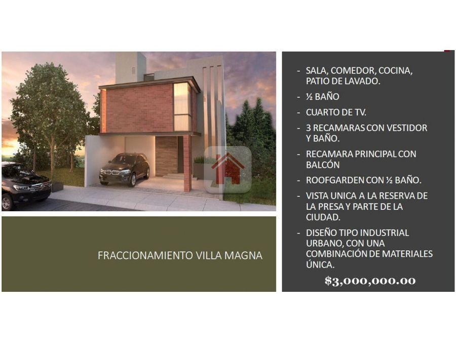 casa nueva en villa magna
