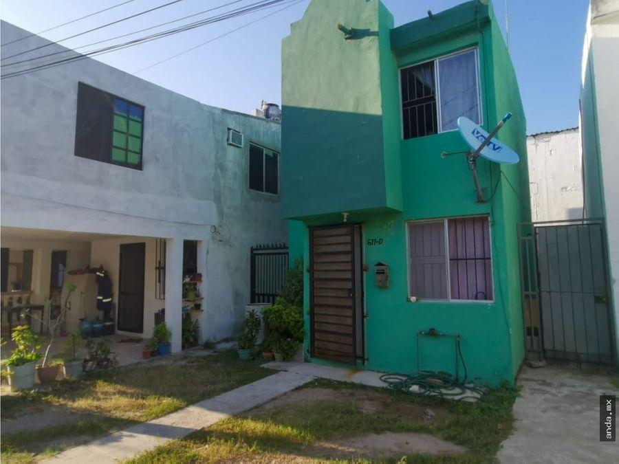 casa en venta en tampico col laguna de la puerta
