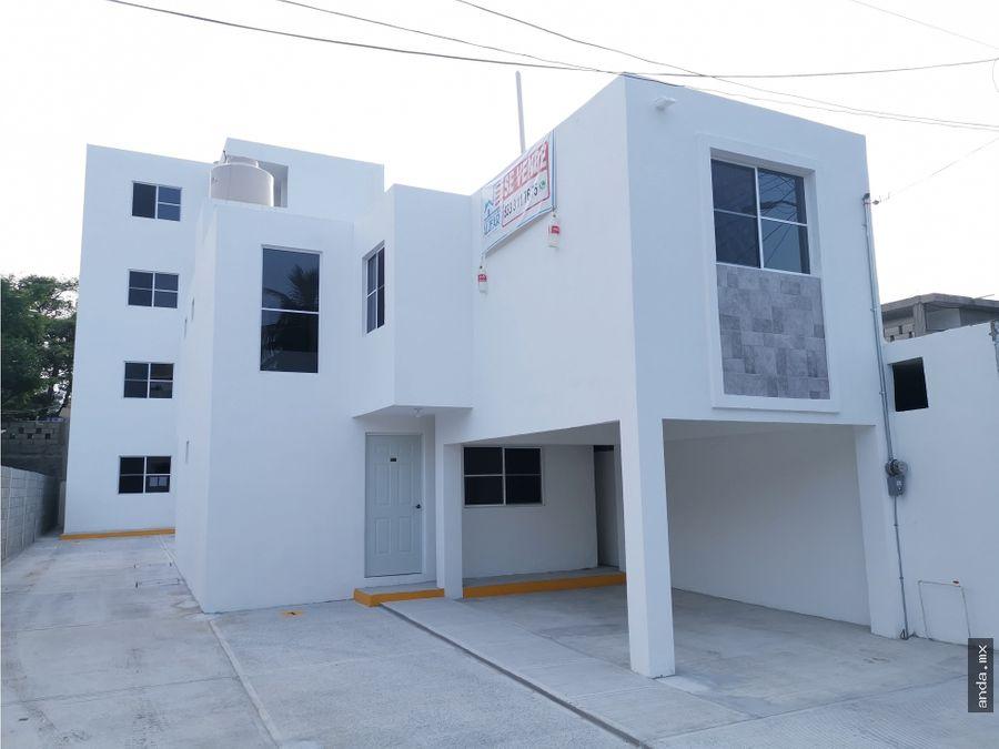 casa en venta ciudad madero col lucio blanco