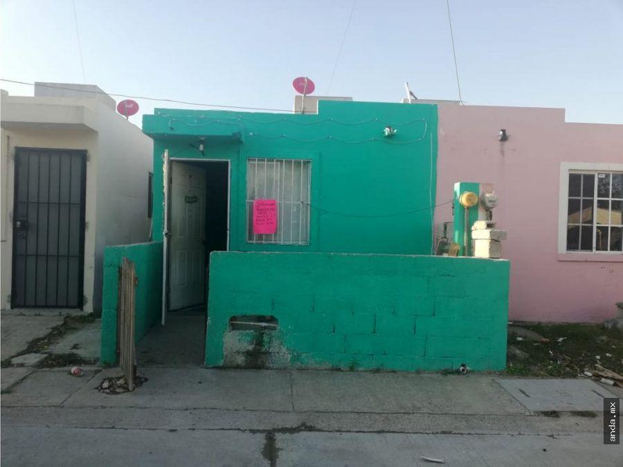 casa en venta en altamira fracc los prados
