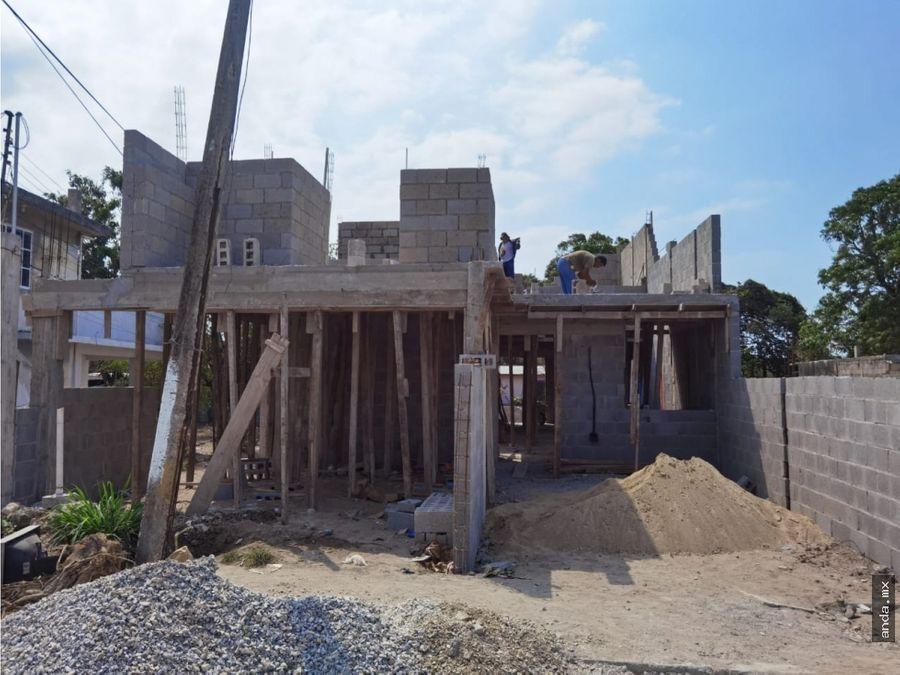 casa en pre venta en col arenal tampico