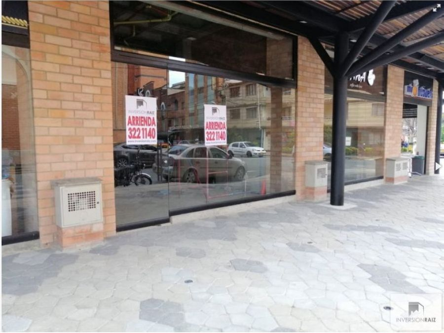 arriendo local comercial en san joaquin