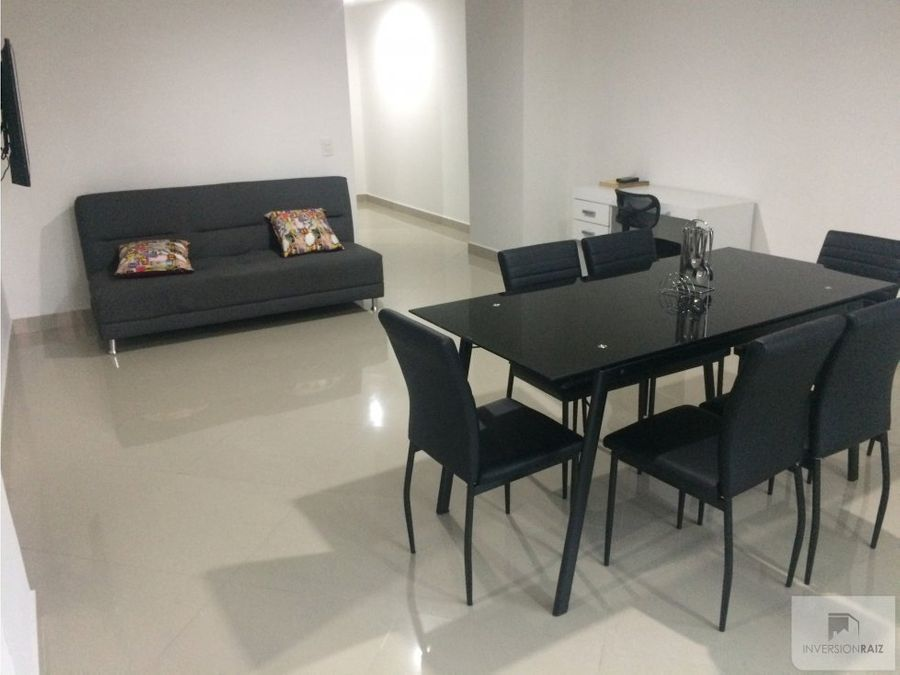 two bedroom furnished apartment in laureles