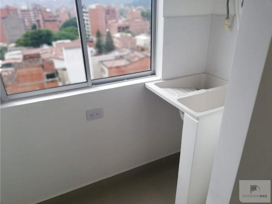 arriendo laureles apartaestudio con balcon