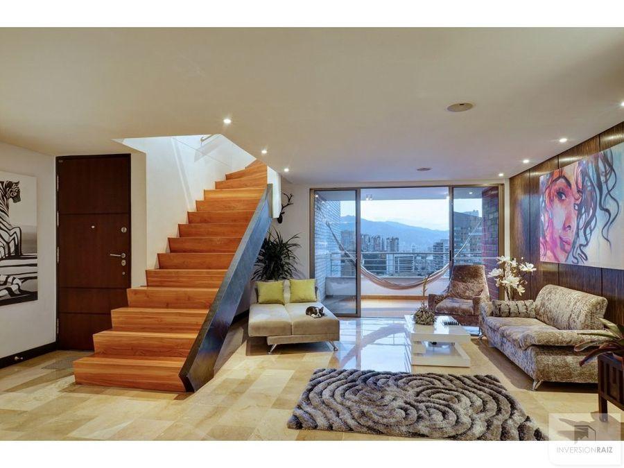 se vende penthouse duplex en el poblado
