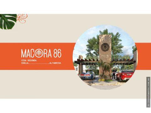 macora 86 mod a