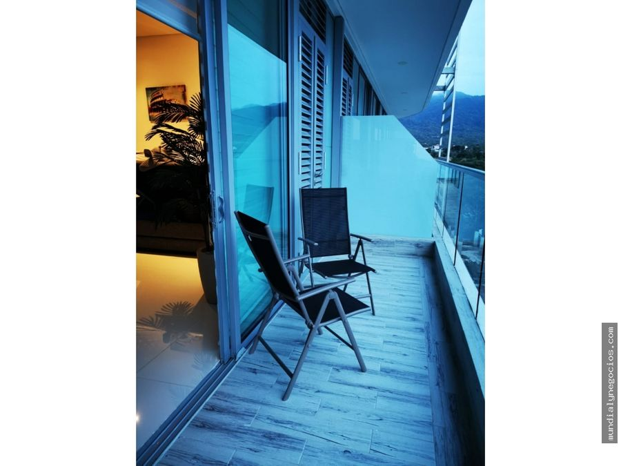 apartamento two towers primera linea bello horizonte santa marta 004