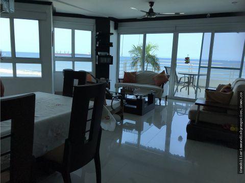 vendo apartamento frente al mar santa marta 001