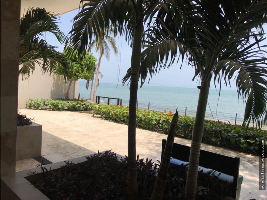 apartamento nuevo primera linea del playa salguero santa marta 005