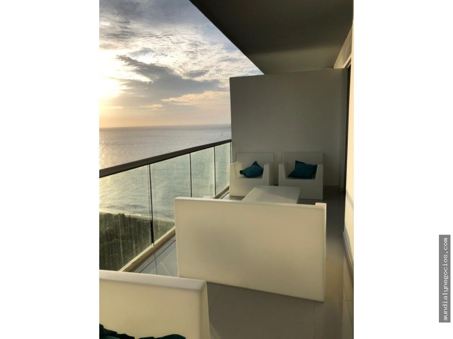 apartamento en primera linea de playa salguero santa marta 005