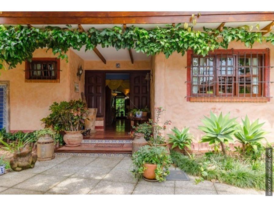 venta casa colonial san rafael escazu san jose